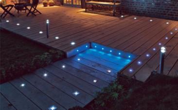 Eclairage ext rieur installation lectrique antibes for Eclairage jardin led electrique