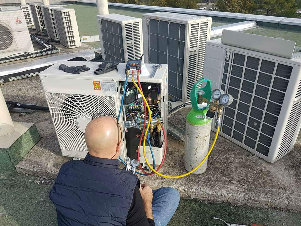 test etanchite climatisation